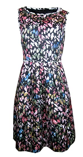 4b8d73c232d6 Tahari By ASL Floral Jacquard Fit-and-flare Dress (8) at Amazon ...