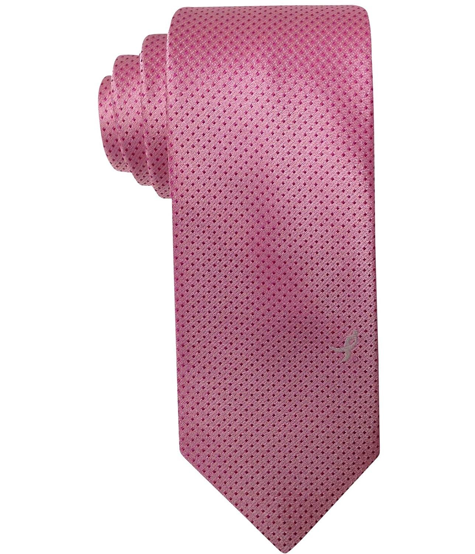 Susan G Komen Mens Micro Dot And Lapel Pin Set Self-Tied Bow Tie