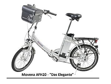 Certificado TÜV y bicicleta eléctrica – 36 V 15 Ah Batería, 20 pulgadas Pedelec de