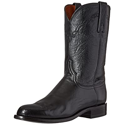 Lucchese Classics Men's Lawrence-blk Lonestar Calf Roper Riding Boot | Boots