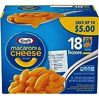 Kraft Macaroni & Cheese, Original Flavor, 7.25 oz, 18 Boxes