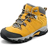 Clorts Women's Hiker Waterproof Lightweight Hiking Camping Boot Outdoor High-Traction Grip Backpacking Shoe