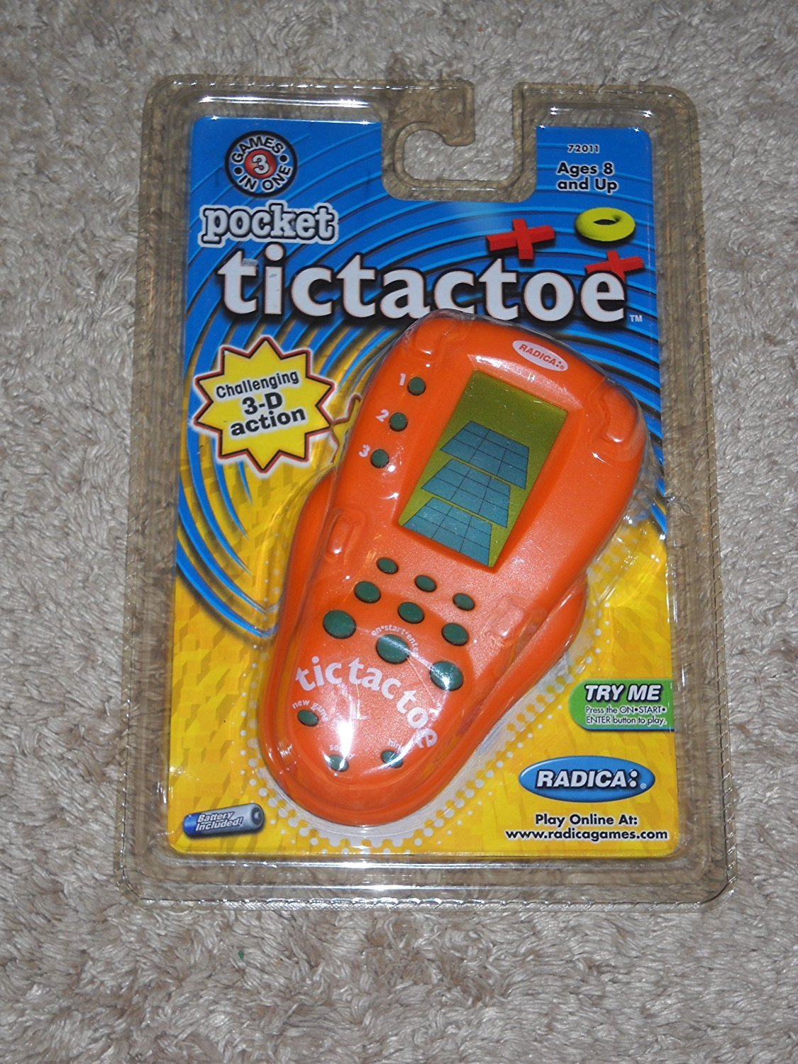 【おすすめ】 [Radica]Radica Electronic Pocket TicTacToe Handheld Game By: 4636112 [並行輸入品] B003PLELTC, 伊良部町 1e9a471b