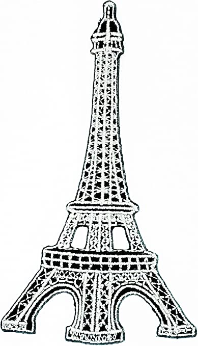 Amazon Com Hho Paris France French Eiffel Tower Eiffel Tower Paris Cartoon Patch Embroidered Diy Patches Cute Applique Sew Iron On Kids Craft Patch For Bags Jackets Jeans Clothes