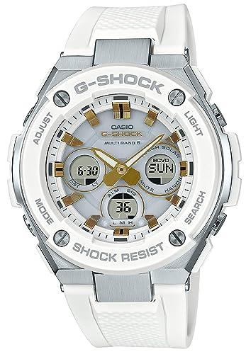 Reloj Casio G-shock - Reloj G Shock G acero solar Radio gst-w300 - 7 AJF hombre: Amazon.es: Relojes
