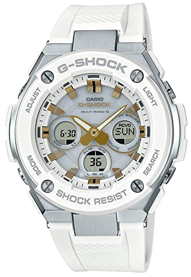 Reloj Casio G-shock – Reloj G Shock G acero solar Radio gst-w300