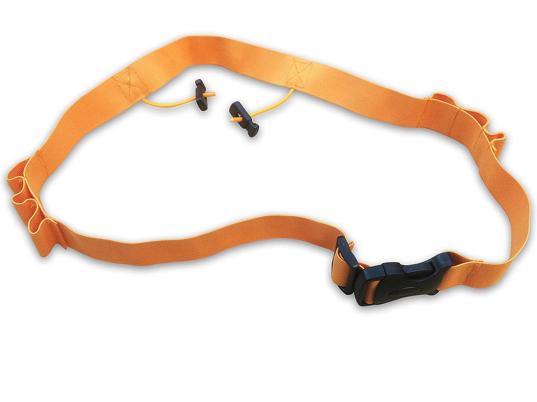 Funky Planet!-Cintur/ón para triatl/ón reflectante almohadillas de gel por n/úmero de contrato