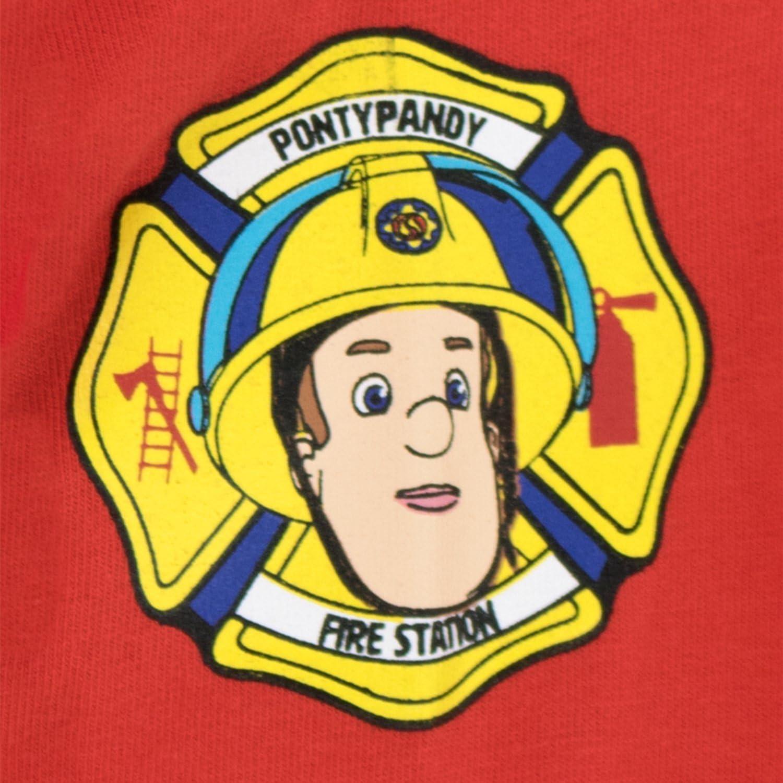 Fireman Sam Sam le Pompier Ensemble De Pyjamas Bien Ajust/é Gar/çon
