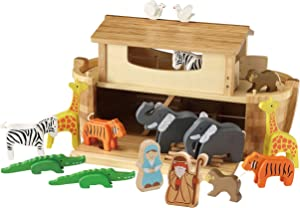 EverEarth - Giant Noah´s Ark with Animals & Figures (EE33773),Multi