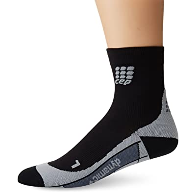 CEP Men's Dynamic+ Short Socks with Compression and Light, Breathable Fit for Cross-Training, Running, Recovery, Tiathletes, and all Endurance and Team Sports