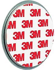 ECENCE 1x Fixation pour détecteur de fumée Aimant Support magnétique Plaquette aimantée Alarme de fumée Ø 70mm 45020108001