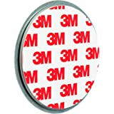 ECENCE 1x Fixation pour détecteur de fumée Aimant Support magnétique Plaquette aimantée 45020111