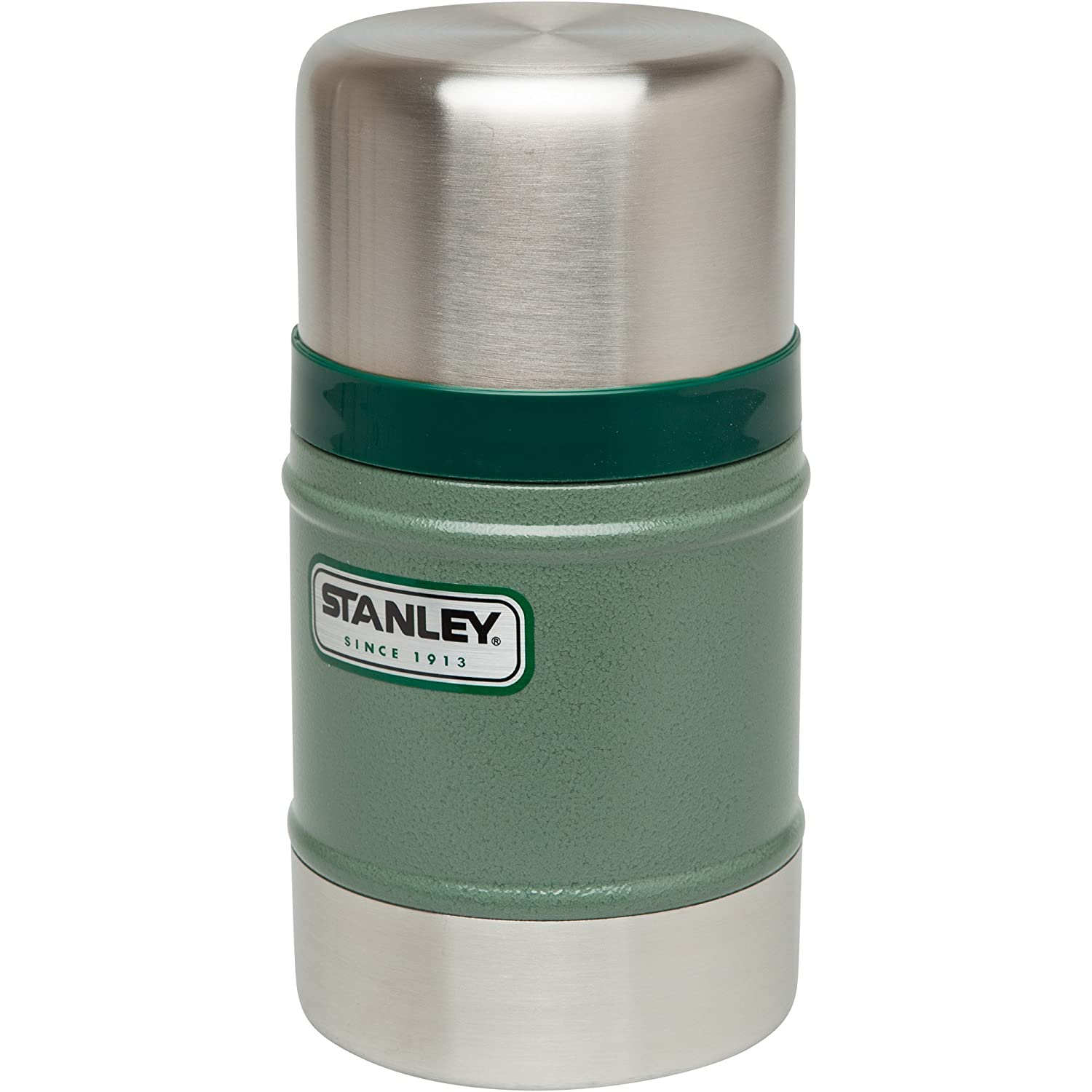 Stanley Classic Vacuum Food Jar, Stainless Steel, 05 L  Green:  Amazon: Kitchen & Home