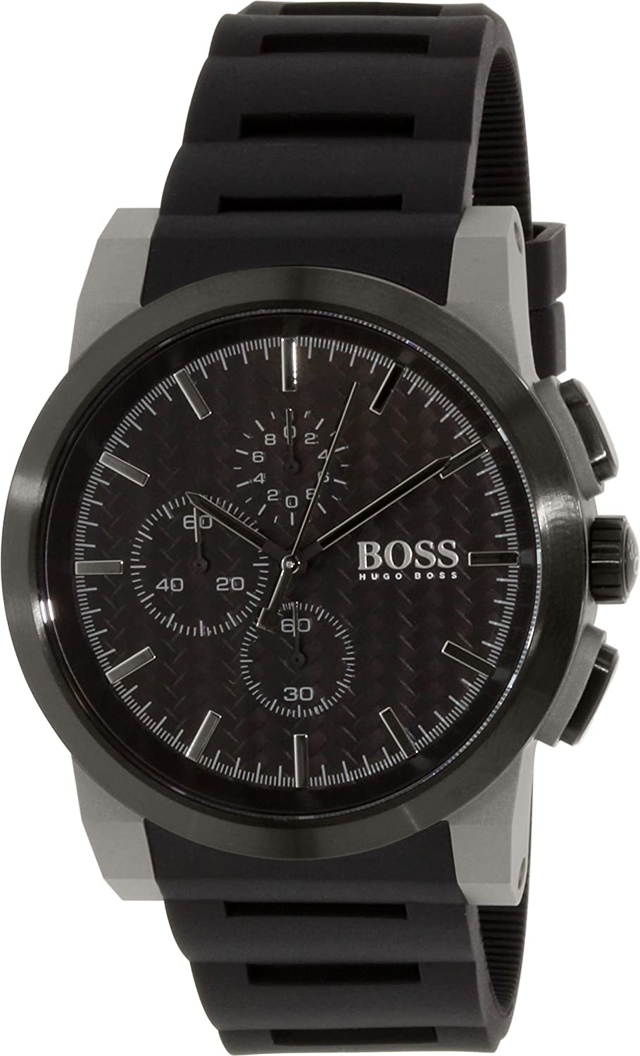 HUGO BOSS WATCH   -Armbanduhr  Analog  Quarz Silikon 1513089_-46