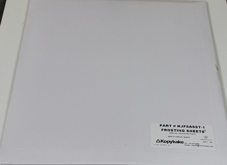 Kopykake Frosting Sheets Assorted