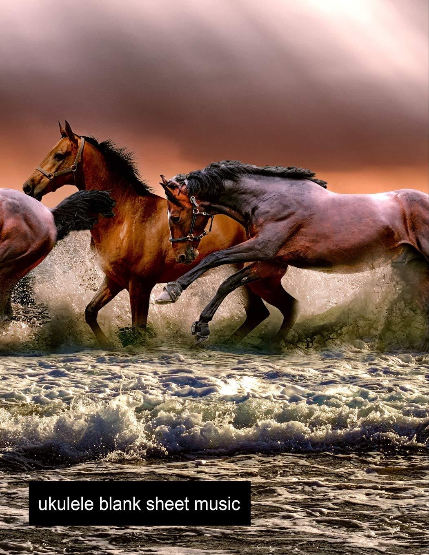 Amazon com: Ukulele Blank Sheet Music: Horse Ukulele Tab