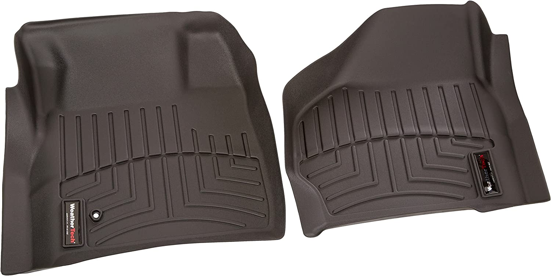 WeatherTech Custom Fit Front FloorLiner Black