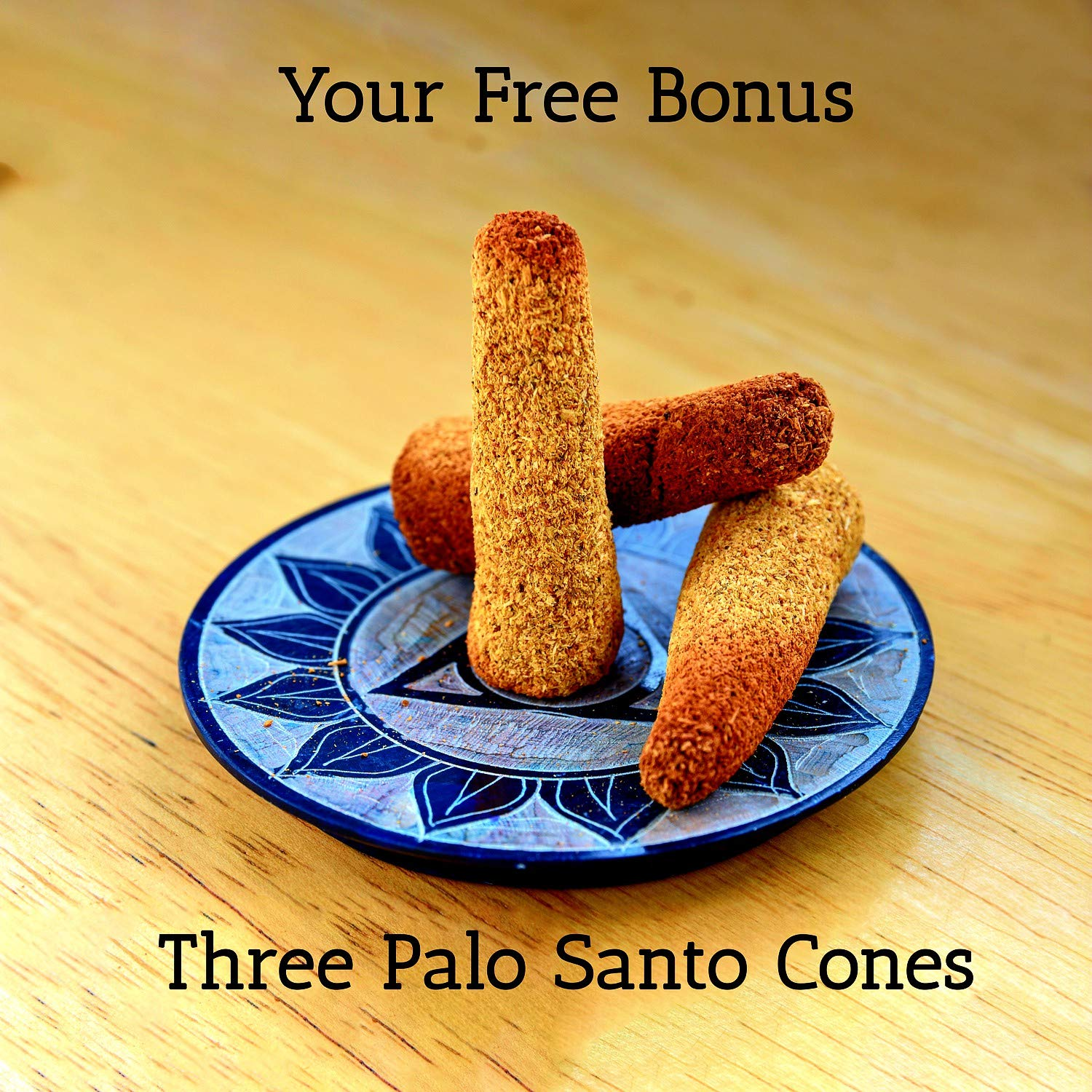 Santo Spirit Palo Santo Holy Wood Incense Smudge Sticks - 20 Pack Free Bonus 3 Palo Santo Incense Cones | 100% Natural | Hand Cut | High Resin | Sustainably Sourced | Clears Negative Energy by Santo Spirit (Image #4)