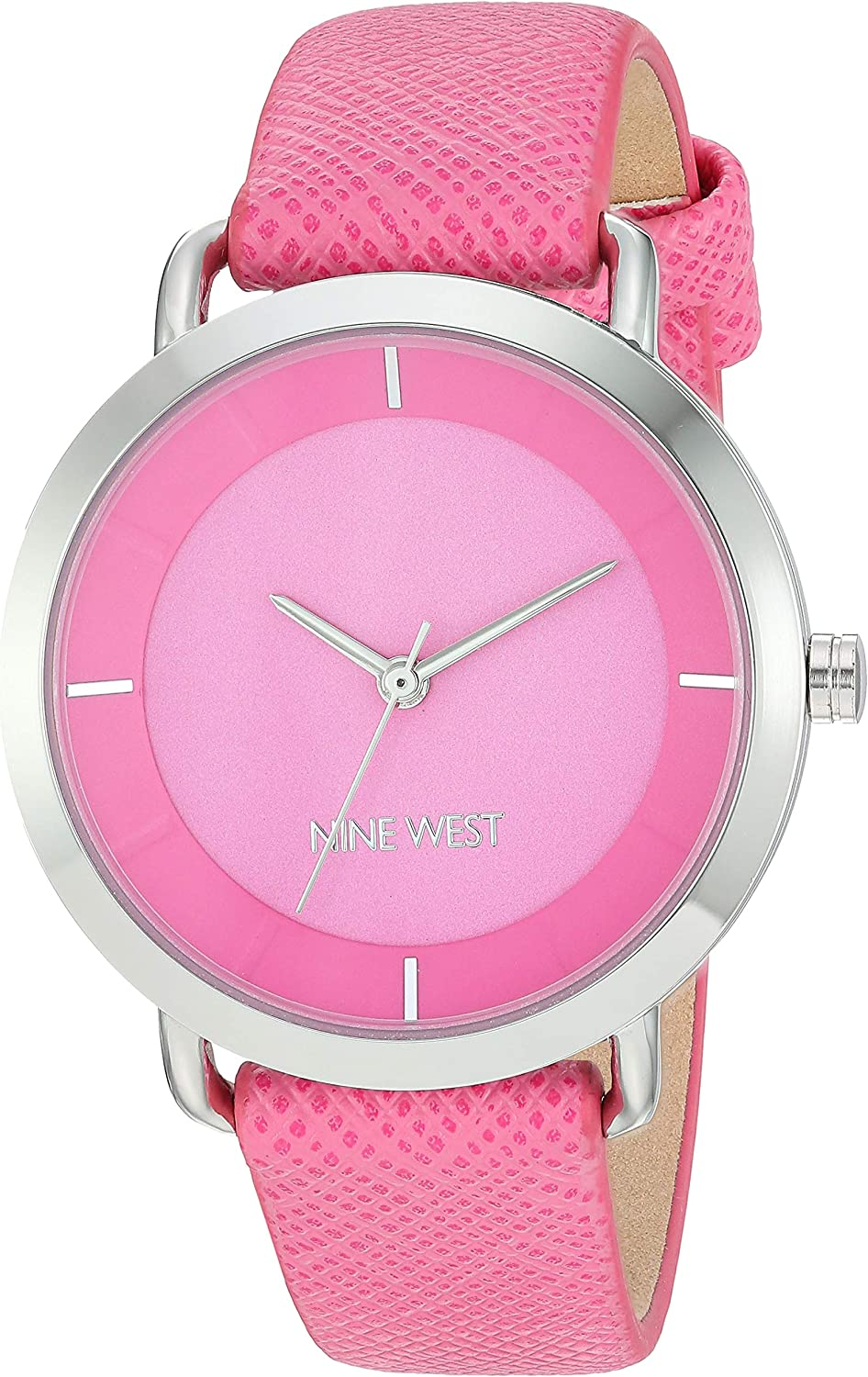 Nine West Women's Textured Strap Watch