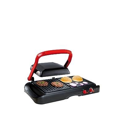 Domoclip DOC124 Grille et Plancha Multifonctions 1600 W