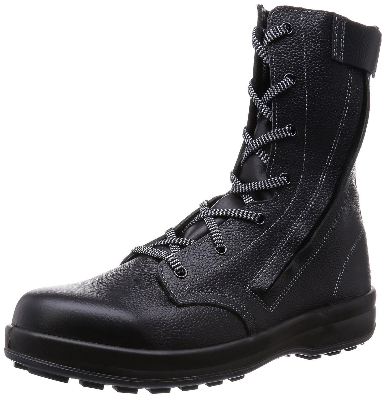 [シモン] 安全靴 長編上 WS33C付 B00R6VSUT4 25.0 cm 3E|ブラック ブラック 25.0 cm 3E
