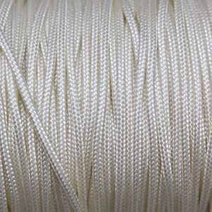 Mini Blind Cord (1.8 mm) - SGT KNOTS - Durable Polyester Lift Cord - Roman Shade Cord & Wind Chime Cord - Micro Cord/Nano Cord for Crafting, Home Decor, Repair, DIY Projects (100 Yards - Ivory)