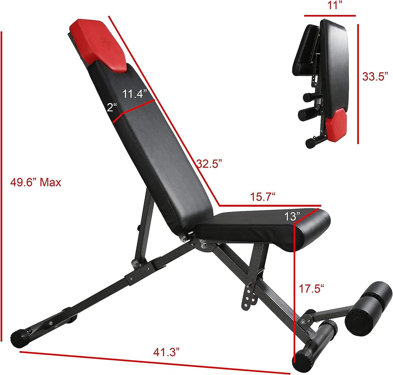 Finer Form Adjustable Weight Bench