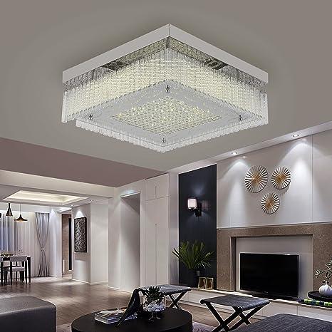 18 W Lámpara de techo de cristal I Lámpara de colgante LED I ...
