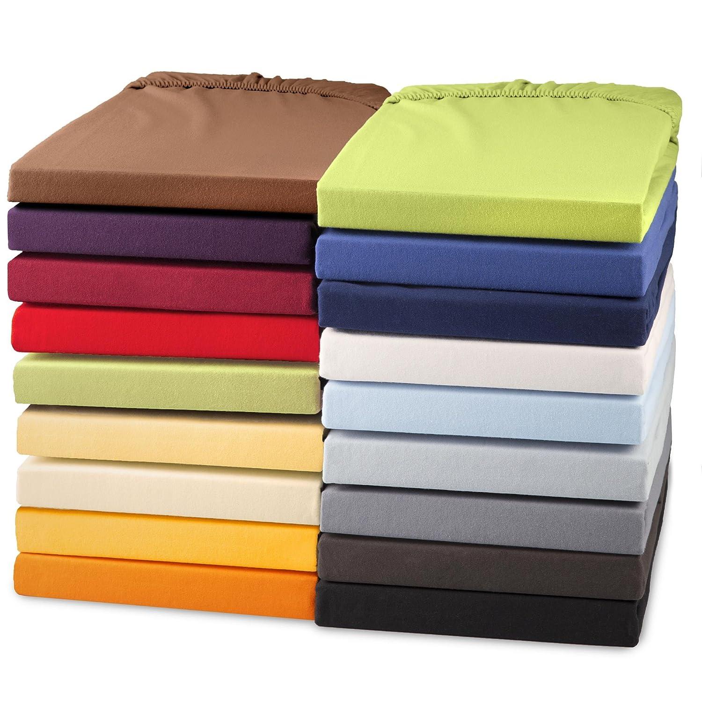 topper laken spannbettlaken 120x200 130x200 spannbetttuch boxspringbetten ebay. Black Bedroom Furniture Sets. Home Design Ideas