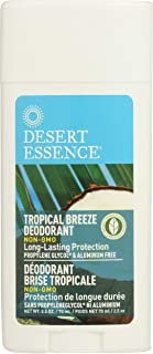product image for Desert Essence Tropical Breeze Deodorant - 2.5 Oz - Long Lasting Protection - Fresh Tropical Scent - Tea Tree Oil - Propylene Glycol & Aluminum Free - Neutralize Body Odor - Antiseptic
