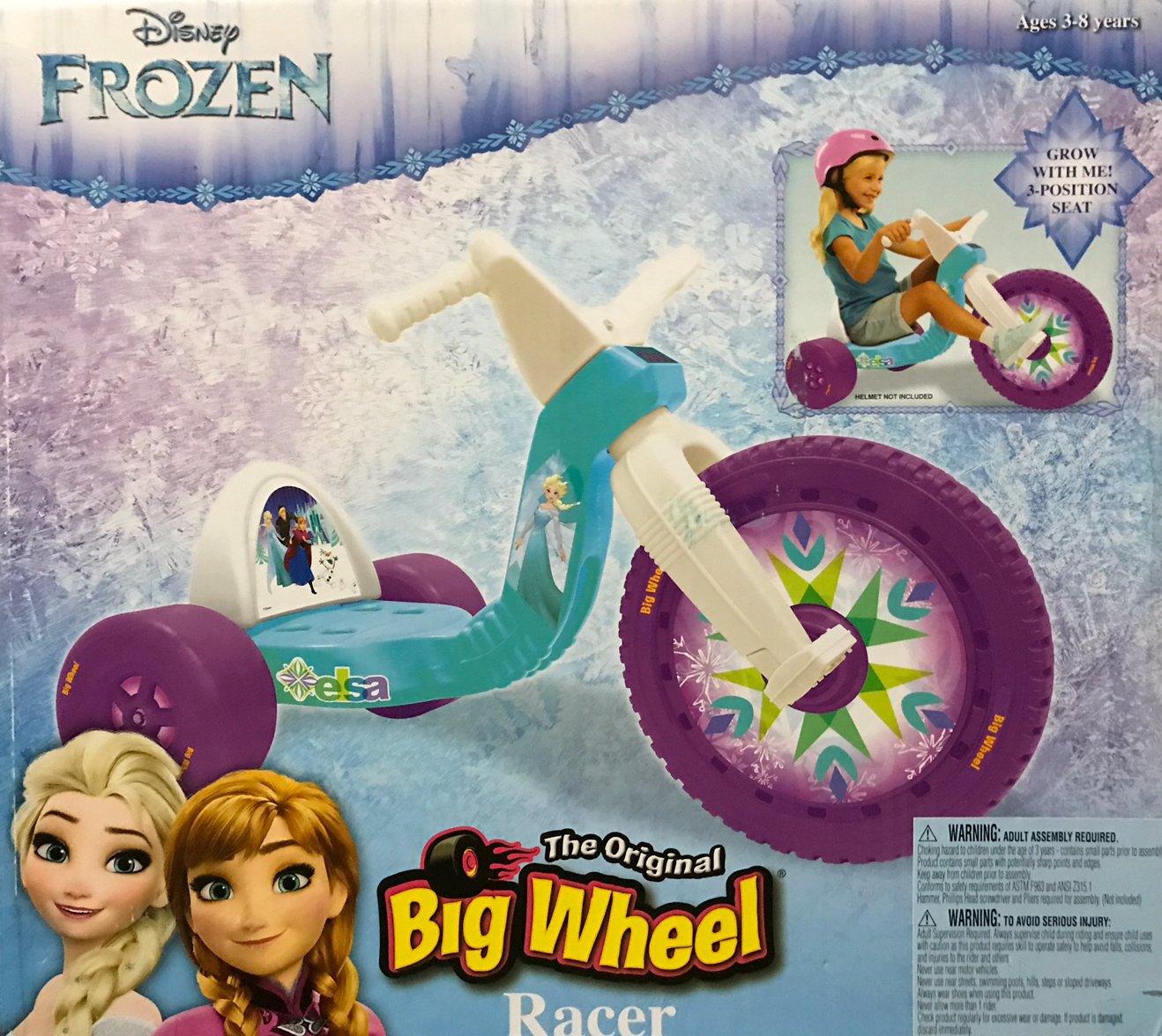 "Disney Frozen Big Wheel 16"" by Jakks Pacific (Image #1)"