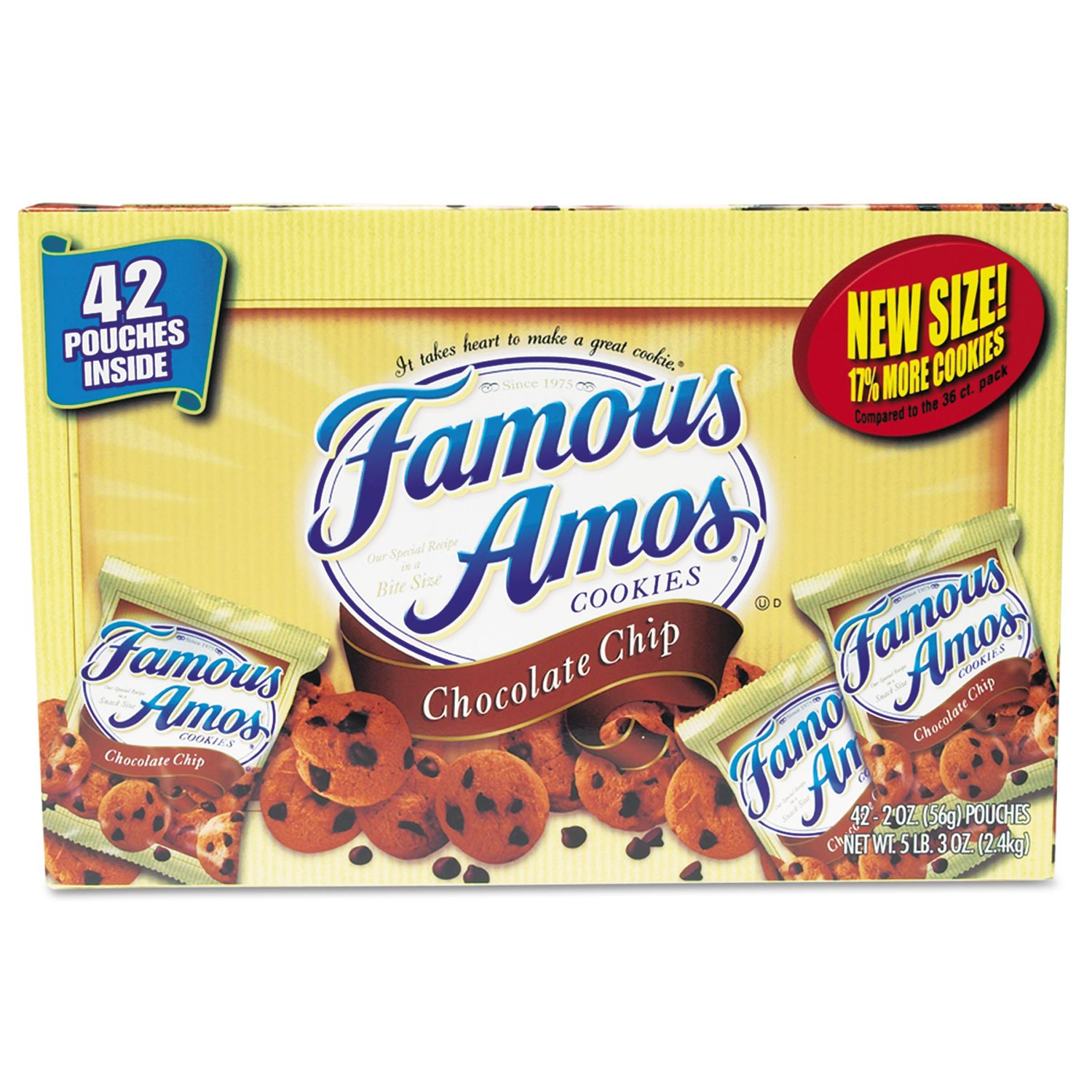 FOOD,FAMOUS AMOS COOKIES by Kellogg's®