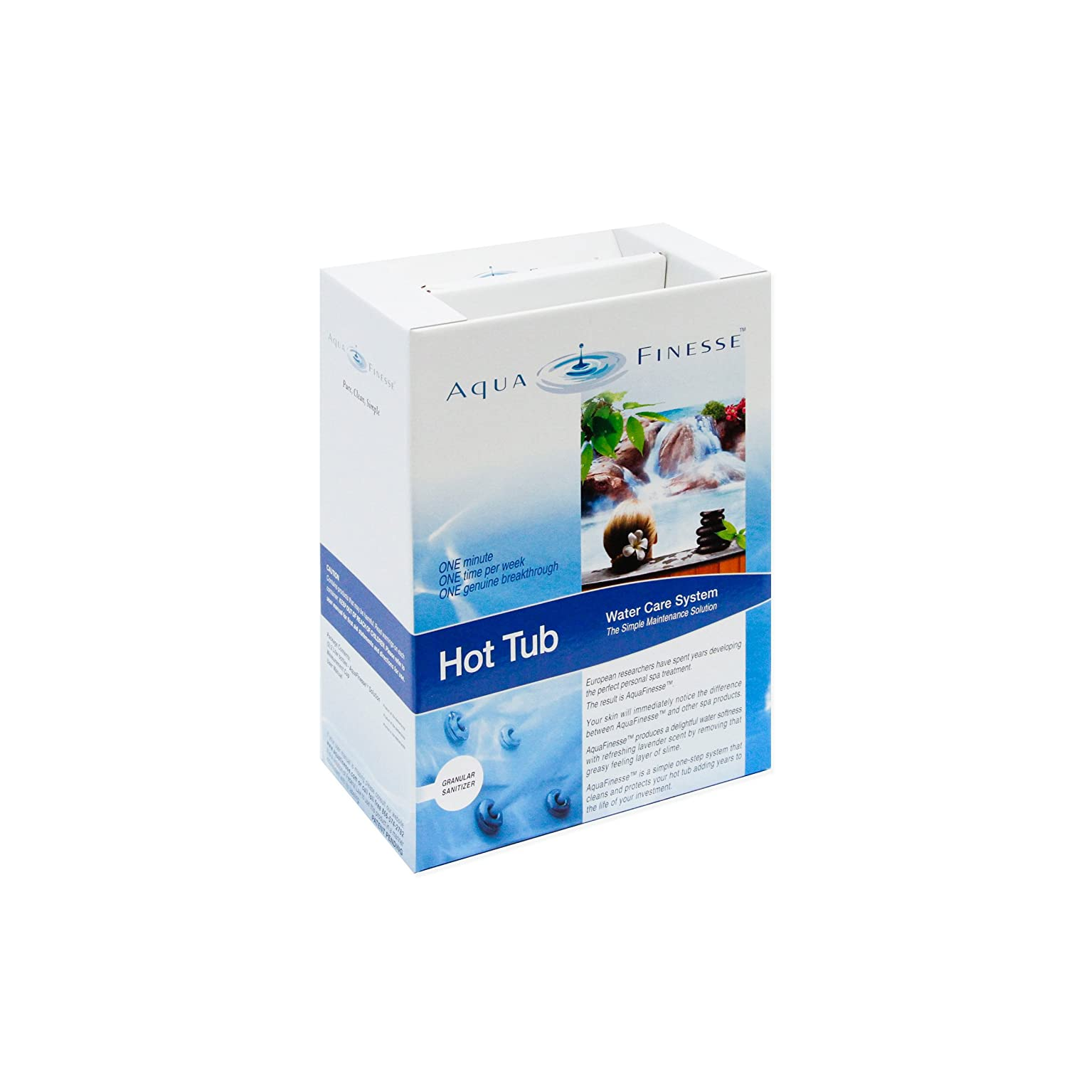 Amazon.com : AquaFinesse Hot Tube Water Care Kit -Trichlor (Tabs ...