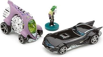Hot Wheels Mattel - Miniatura de Coches Pack de 2 Batman Super ...