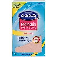 Dr. Scholl's Moleskin Plus 4 5/8-Inch X 3