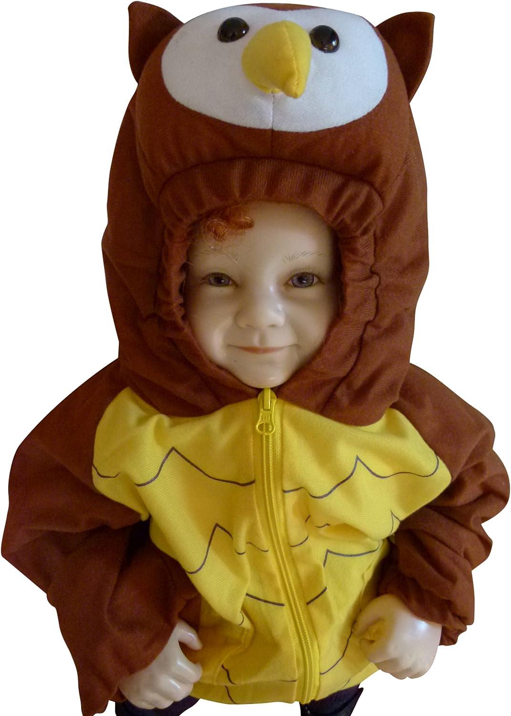 Seruna - Disfraz de búho para bebé niño: Amazon.es: Juguetes y juegos