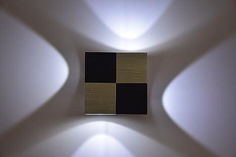 Lightess lampada da parete a led w stile moderno applique da