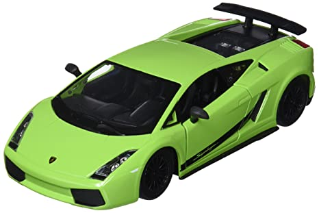 Amazon Com Bburago Lamborghini Gallardo Car Toy Green 18