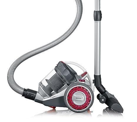 Severin MY 7105, Aspiradora multiciclónica de suelo sin bolsa, incluye cabezal para parquet y