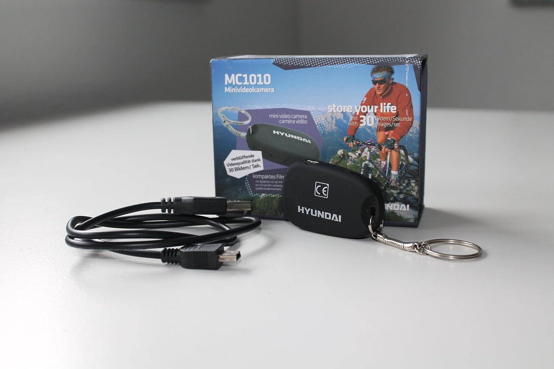 Hyundai Shorty - Cámara de vídeo (tamaño pequeño, con ranura para micro SD), color negro (importado): Amazon.es: Electrónica