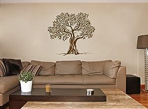 STICKERSFORLIFE ik347 Wall Decal Sticker Decor Olive Tree Bedroom Kids