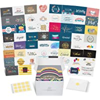 Dessie Greeting Cards Assortment - 60 Large Unique Assorted Cards for All Occasions w/ Greetings Inside and Card…