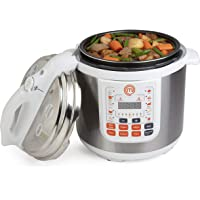MasterChef 13-in-1 Pressure Cooker- 6 QT Electric Digital MultiPot w 13 Programmable Functions- High and Low Pressure Cooking Plus FREE Recipe Guide