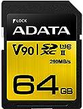 ADATA Premier ONE (64GB) Class 10 UHS-II SDXC Memory Card