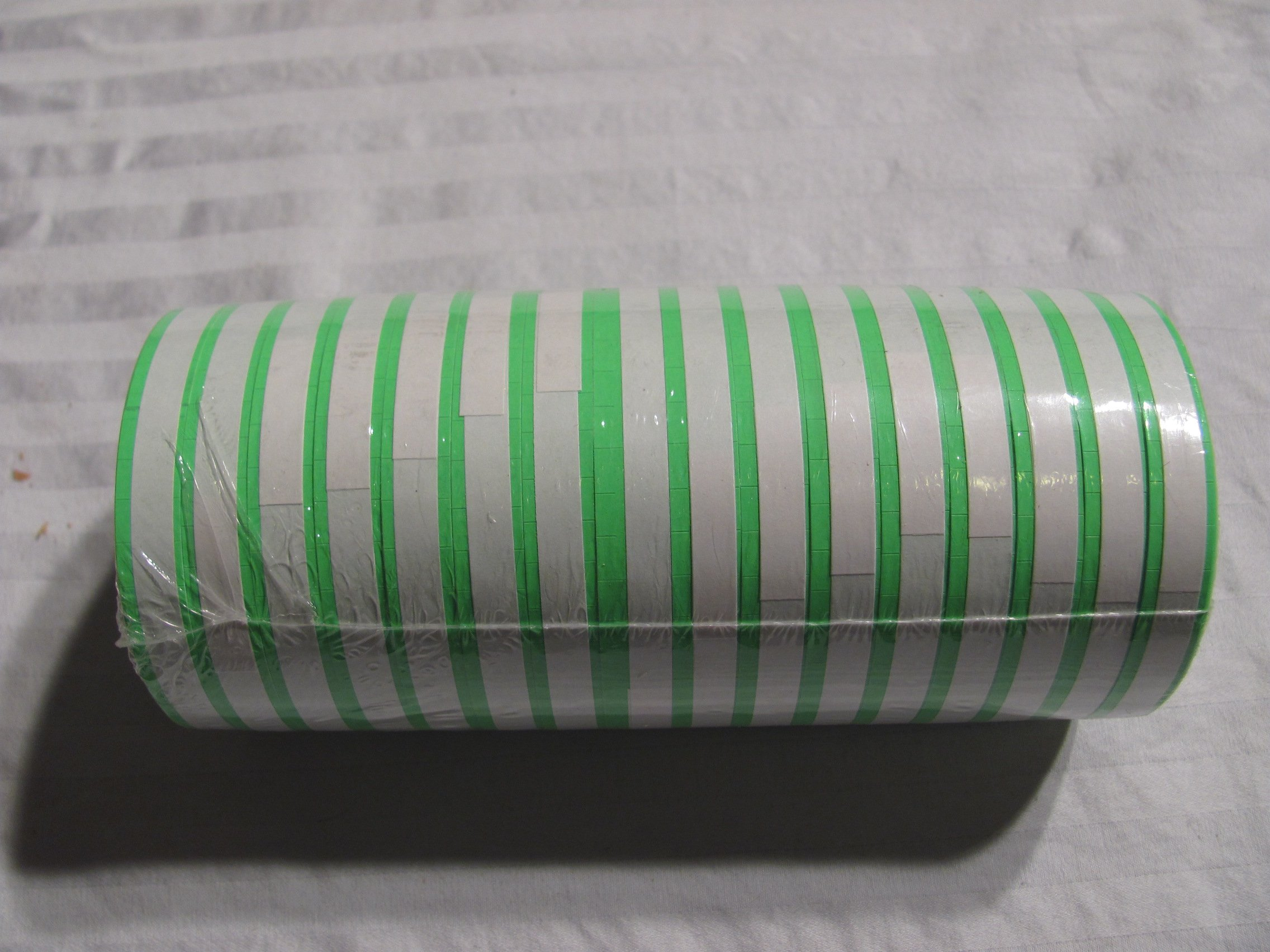 Green Labels for Monarch 1110 (16Rolls 17,000 labels) Free Ink