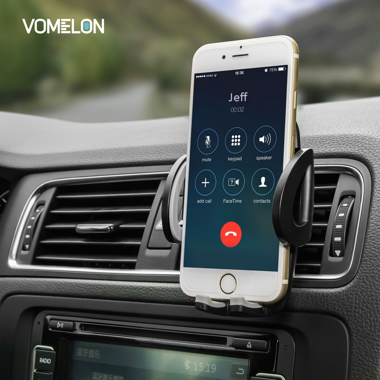 LG Huawei and More Sumsung Cell Phone Holder for Car Google 3-in-1 Car Phone Holder Car Mount for iPhone X iPhone 8 8 Plus 7 7 Plus