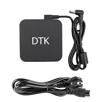 DTK Computadora portátil Cargador Fuente de alimentación Adaptador Unidad de alimentación para portátil ASUS/TOSHIBA