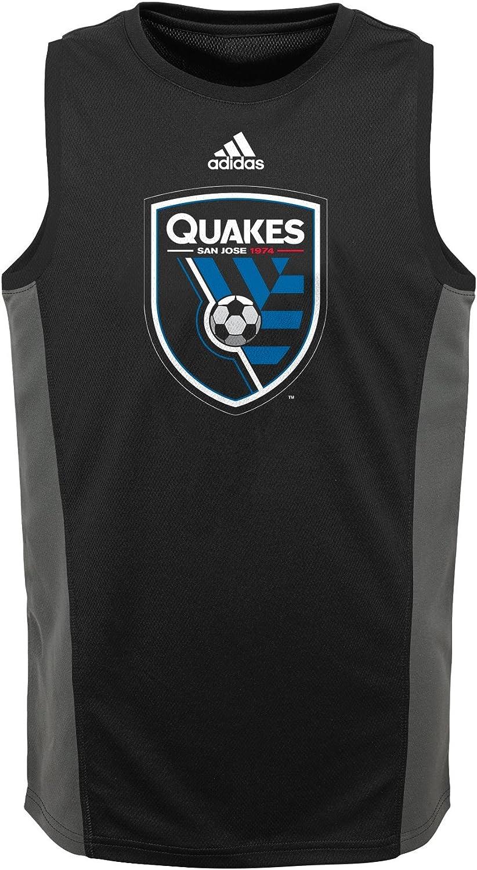 MLS by Outerstuff boys Youth 4-20 Fan Gear Tank Small Black 8