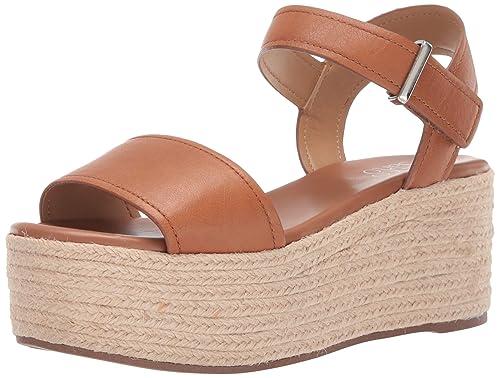 98106178142 Franco Sarto Women's Ben Espadrille Wedge Sandal