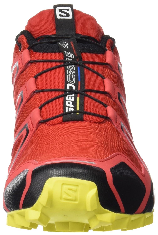 Salomon Men's Speedcross 4 Trail Running Shoes B017SR6FQ0 9 D(M) US|Red